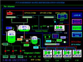 Northern Hawk automation screen