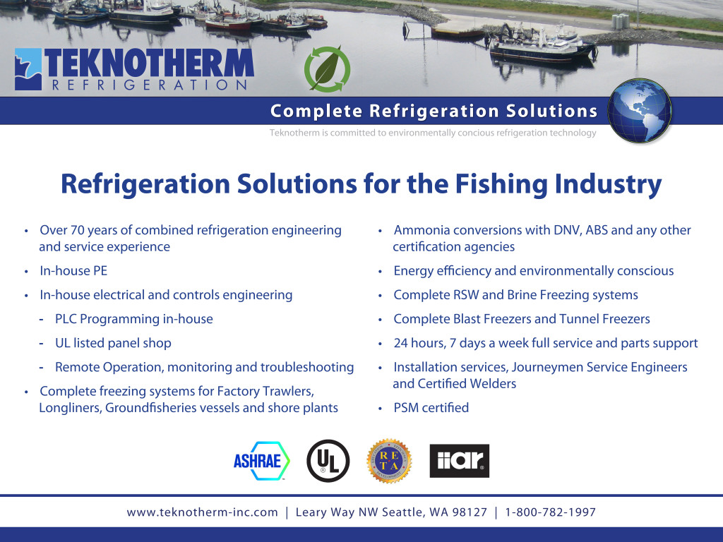 36 x 48 Poster Refrigeration Solutions for Fishing Industry