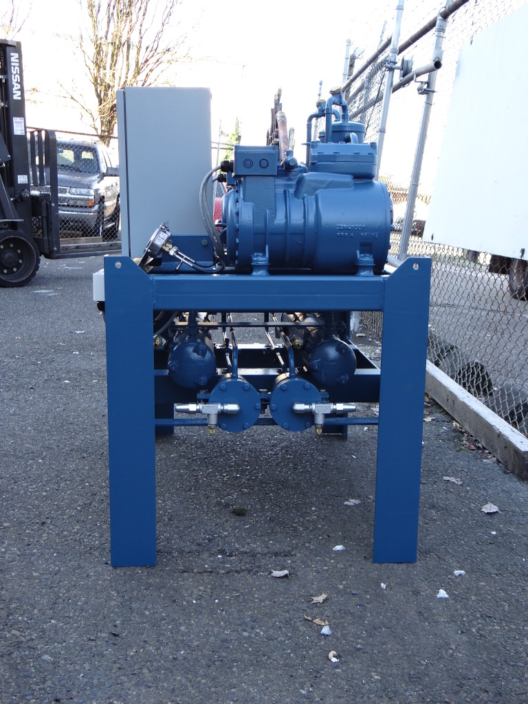 Condensing unit side