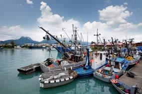 alaska fishing boats