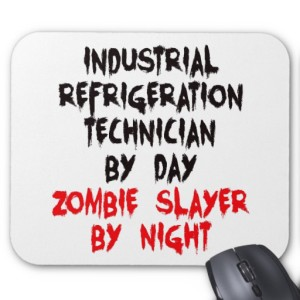 refrigeration tech mouse pad